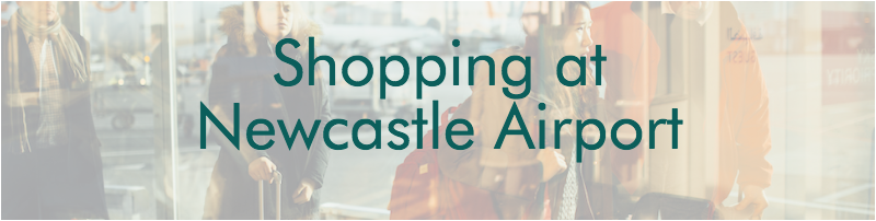 Shopping at Newcastle Airport