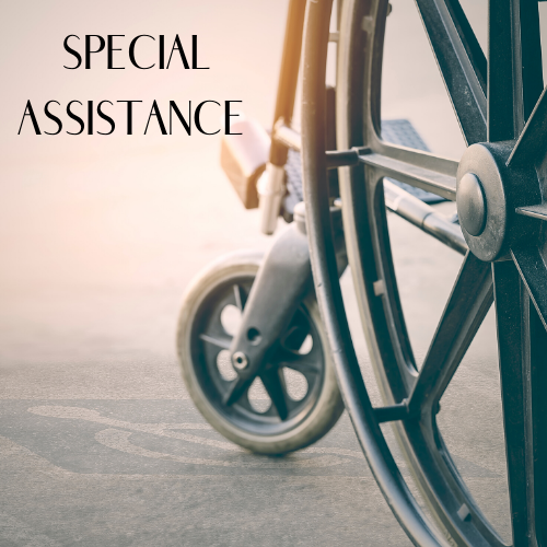 special assistance at newcastle